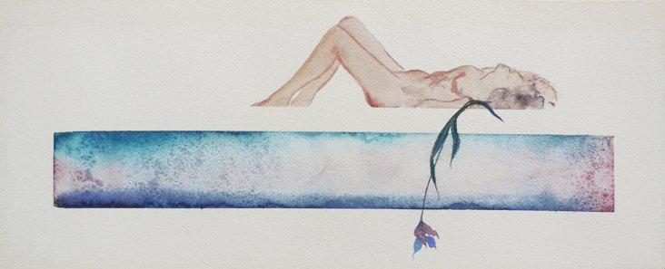 Reclining Nude, 1966