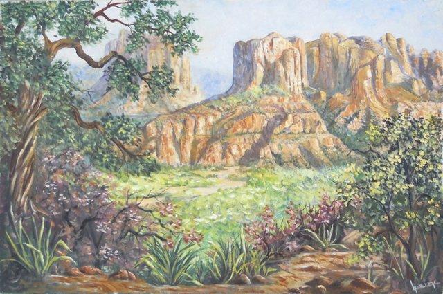 Southwestern Landscape, 1970s