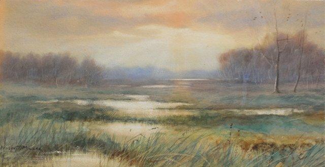 Landscape by Addison Millar, 1890s