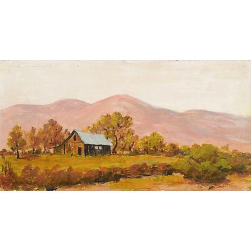 Country Barn, 1974