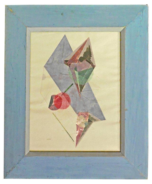 Midcentury Collage, 1945
