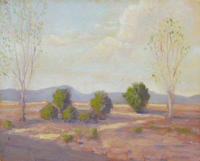 Southwestern Landscape, 1925