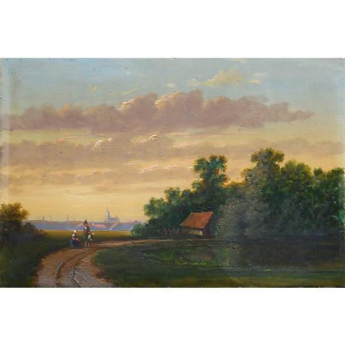 English Romantic Landscape, 1860