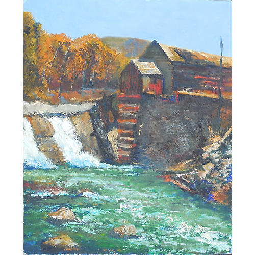 The Old Mill on the River, 1960