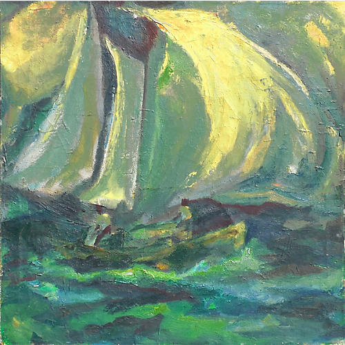 1950s Sailing Abstraction