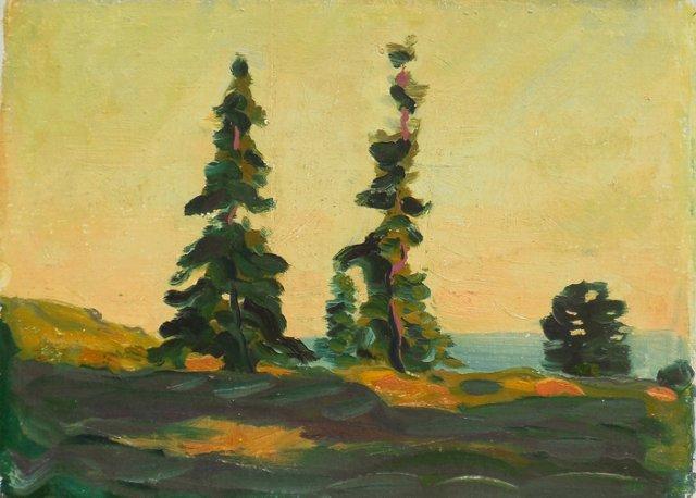 Landscape by James Daugherty, 1920