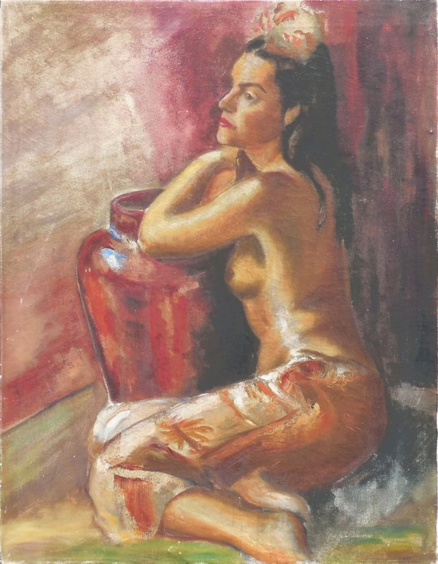 @RL/Study of a Woman, 1940