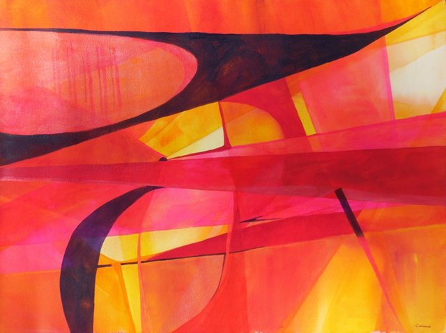 Warm Abstract, 1970