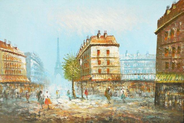 The Champs-Élysées & the Eiffel Tower
