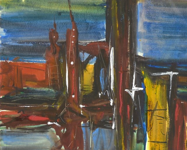 1d/ Abstract by David McKay, 1970