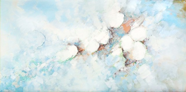 Cloud Abstract IV,  C. 1975