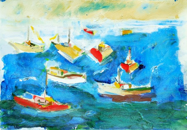 @RL Fishing Boats by Robert Canete