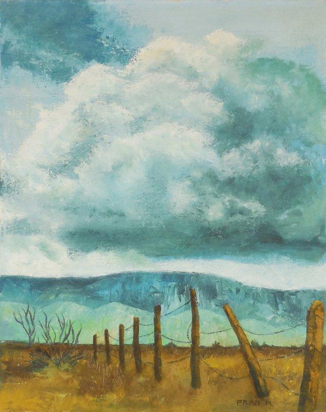 Rain Cloud, Taos, 1977