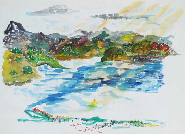 Lake Landscape, 1981