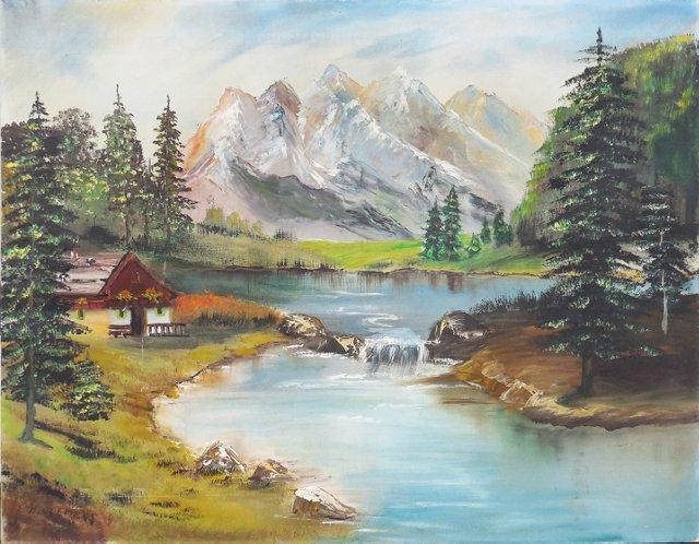Alpine Landscape, 1950