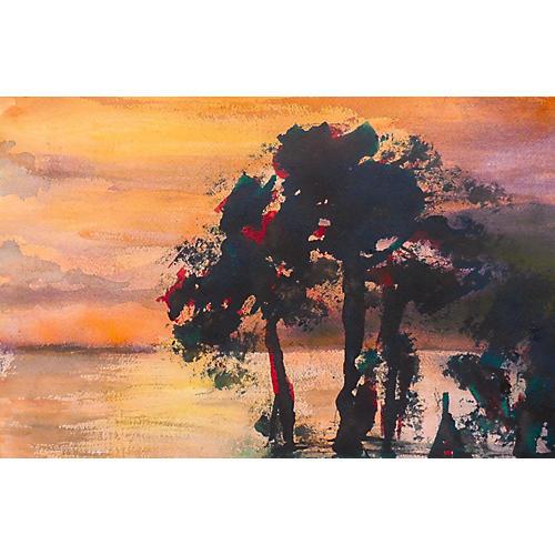 Sunset Seascape, 1978