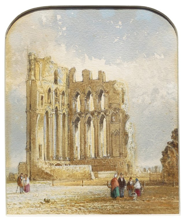1840s An Ancient Abbey