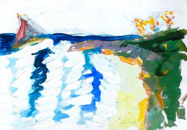 Asilomar Coast by Robert Canete