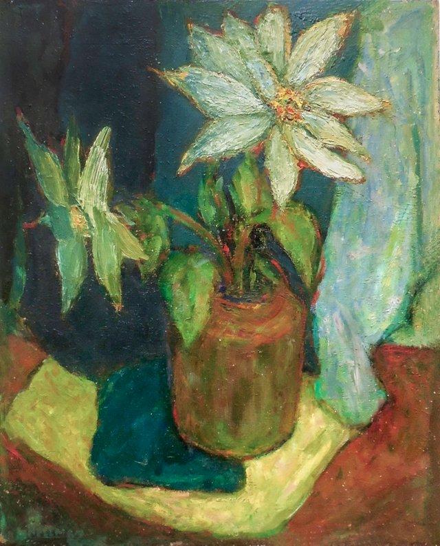 Still Life of Lilies, 1955