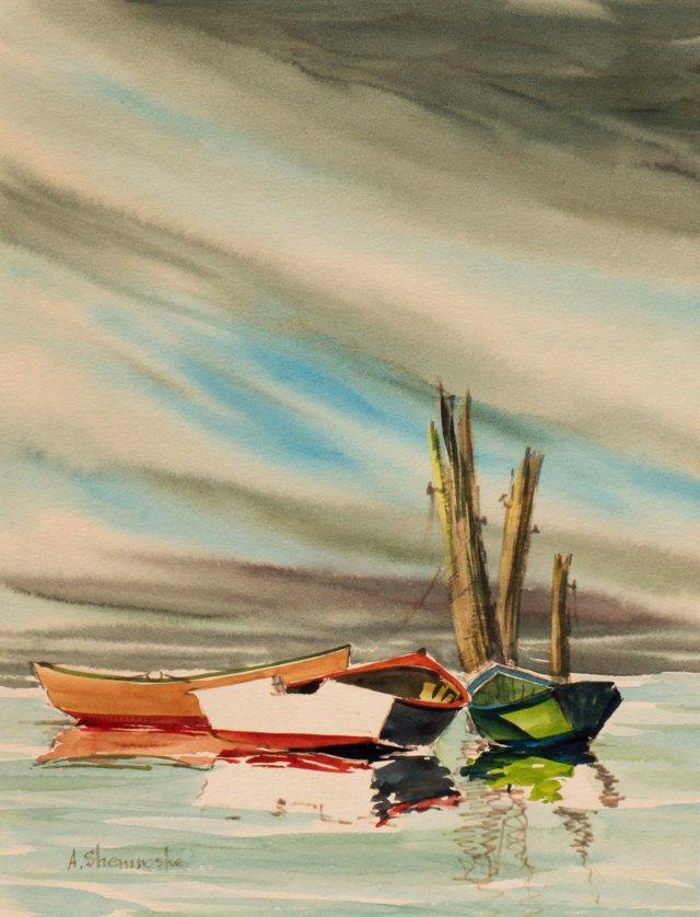 @RL/Rowboats by Anthony Shemroske, 1965