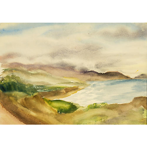 1970s Coastal Fog