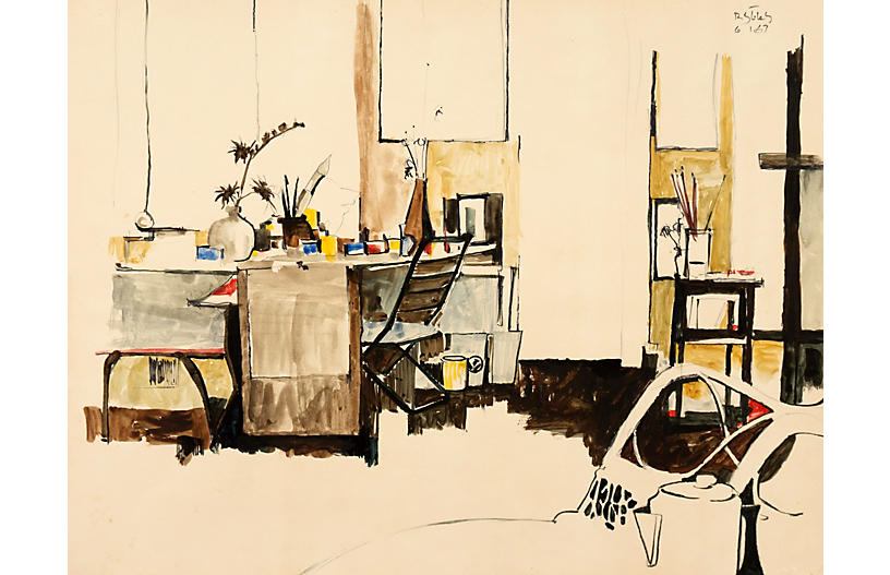 The Artist's Studio, 1967
