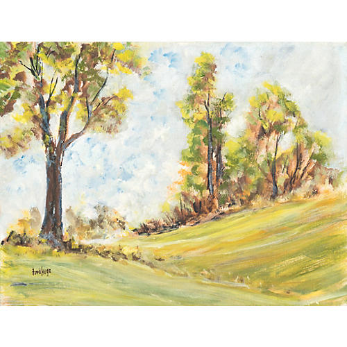 Valley Landscape by Frederick Hugo, 1965