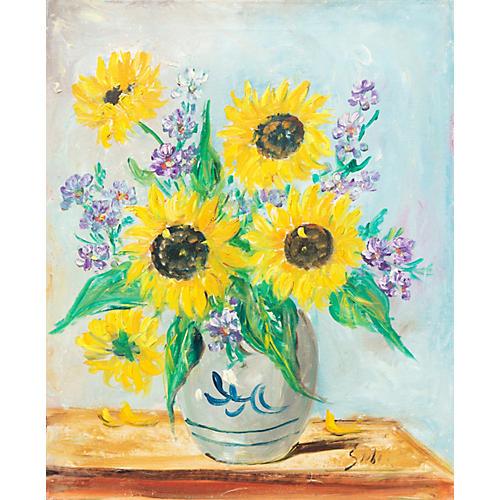 Sunflowers, 1965