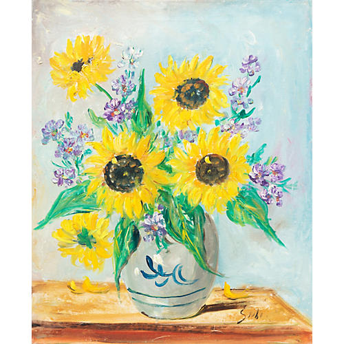 Sunflowers, 1965