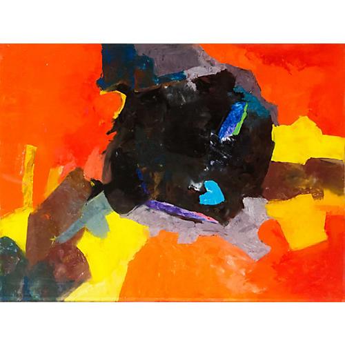 Blue Heart Rock, Isabel Tavernetti, 1972