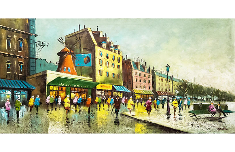 The Pigalle and The Moulin Rouge