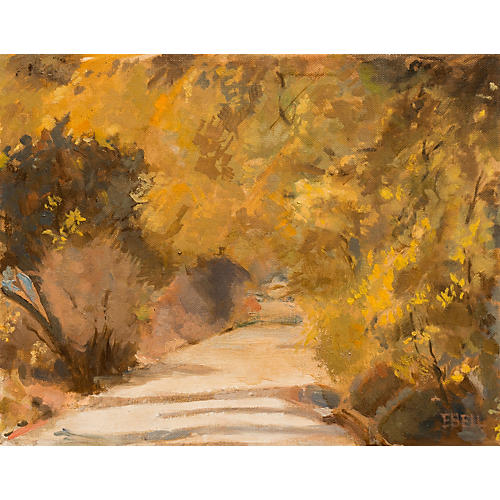Golden Path by Evelyn Bell, 1965