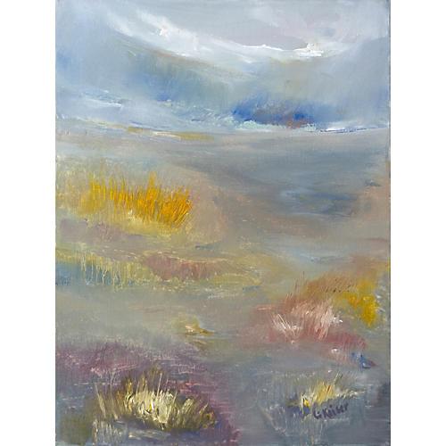 Tide Grass by Elizabeth Keiser, 1987