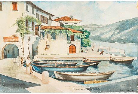 Lago di Garda, Italy, 1945