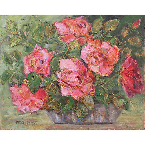 Peace Roses by Carol Annon
