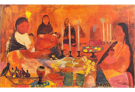 1960s, The Evening Meal by Jean Jiana