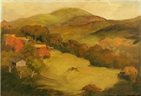 California Landscape by Ruth Danielsen