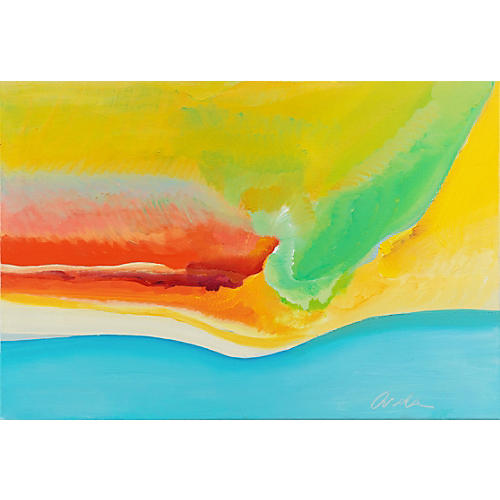 Hawaii Landscape by Rockie Arola, 1976