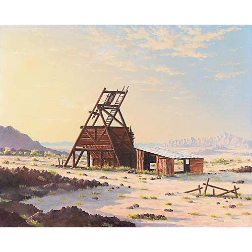 The Old Mine by Willy Harras, C.1975