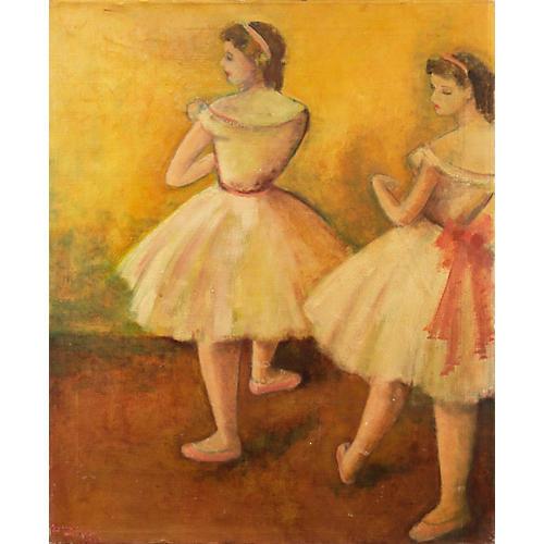 Ballerinas by Leanne Magnin, 1955