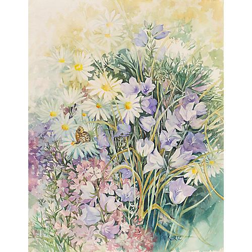 Spring Flowers by Pat Kurtz, C.1970