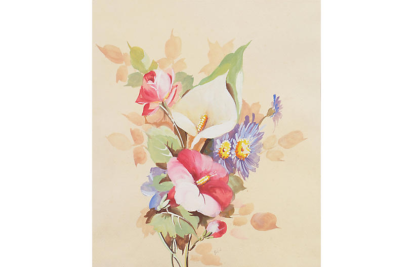 Bouquet of Spring Flowers, C. 1965