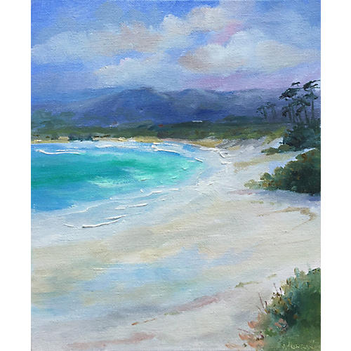 Carmel Beach by Kathleen Murray
