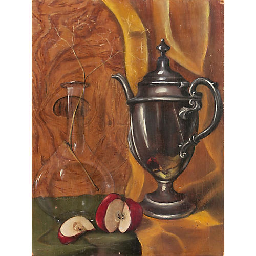 Still Life w/ Pewter Coffeepot