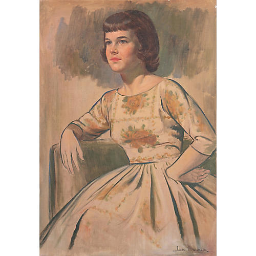 Portrait of a Young Woman by John Bohrer