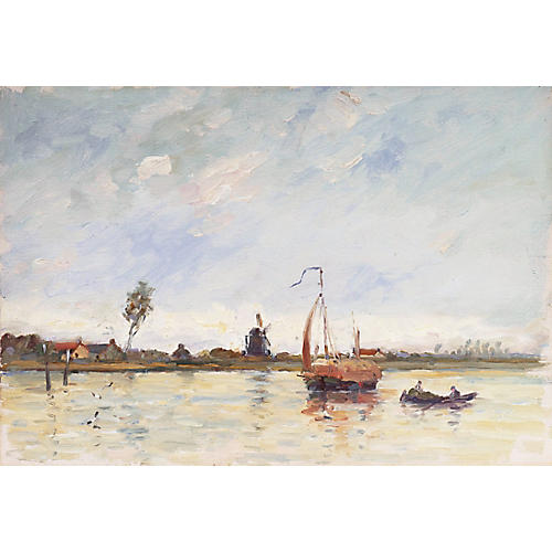 Dutch Coastal Seascape, 1898