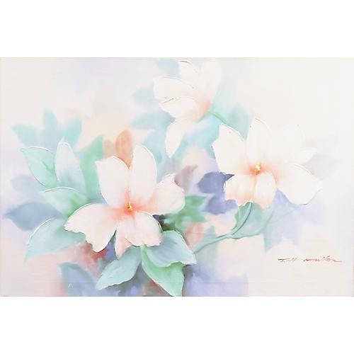 Hibiscus in Pastel
