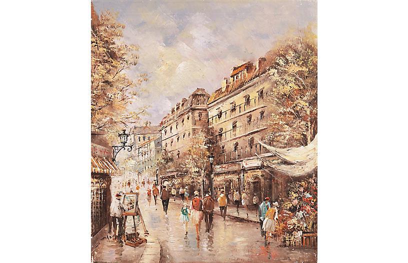 Paris after Rain, C. 1960