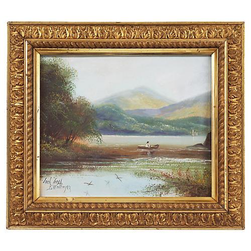 Fishing on Loch Ness, C. 1860