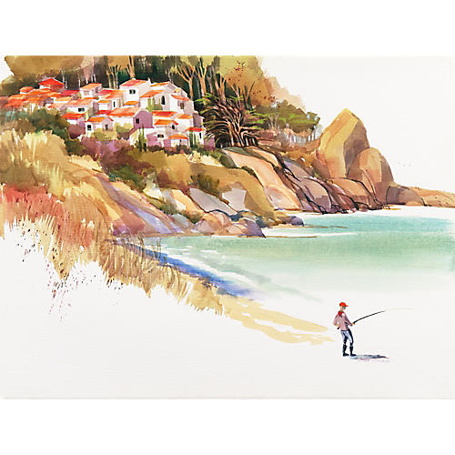 Fishing the Pacific Riviera, Stan Cohen